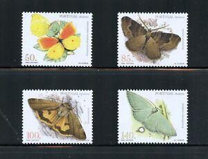 Z478  Portugal/Madeira  1998  butterflies moths  4v.    MNH