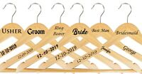 Personalised Wedding Hanger Vinyl Stickers/ Decals-Custom Wedding Stickers-WS1