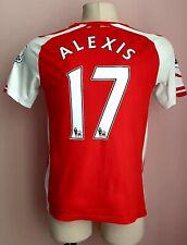 Arsenal 2014 - 2015 Home football shirt  #17 Alexis