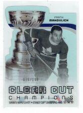 10-11 UD Clear Cut Champions  Frank Mahovlich  /100  HOF