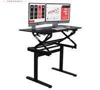 Ergonomic double gas spring height adjustable standing desktop Workstation