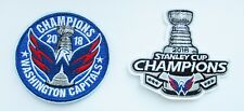 (1) LOT OF (2) 2018 STANLEY CUP CHAMPION WASHINGTON CAPITALS PATCH # 91