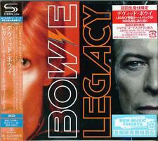 DAVID BOWIE-BOWIE - LEGACY-JAPAN 2 SHM-CD G88