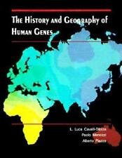 The History and Geography of Human Genes Hardcover Book