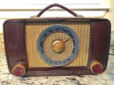 Vintage Zenith 6G05 Tube Am Radio Working 102-645 Plastic