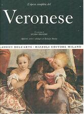 VERONESE L'OPERA PITTORICA COMPLETA RIZZOLI 1968 CLASSICI DELL'ARTE 20