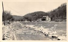 Cassville Missouri~Roaring River State Park~Trout Haven~1940s Real Photo~RPPC