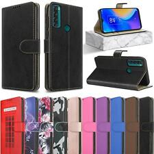 """For TCL 20 SE Case, (6.82""""), Magnetic Flip Leather Book Wallet Stand Phone Cover"""