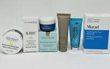 Estée Lauder Clarins Sunday Riley Murad Lot of 7 Skincare Mini/Travel Size