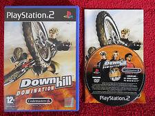 DOWNHILL DOMINATION-Playstation 2 PS2 ~ PAL ~ 12+ RACING/vélos jeu