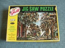 """Vintage """"Shady Lane"""" Jigsaw Puzzle - 304 Pieces  Whitman Guild"""