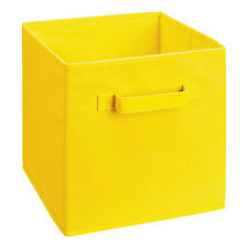 Square Foldable Fabric Toy Storage Boxes With Handles 27 x 27 x 28 cm Medium