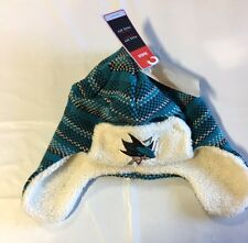 San Jose Sharks Knit Beanie Toque Winter Hat Skull Cap NEW Very Nice Trooper $22