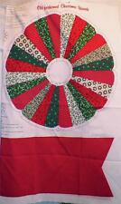 Old Fashioned Christmas Wreath Soft Sculpture 2 Sew Cranston Print Works New
