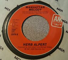 Herb Alpert ‎– Manhattan Melody / You Smile - The Song Begins