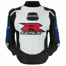 SUZUKI GSXR Motorbike Leather Mens Jacket Biker Racing Motorcycle Leather Jacket