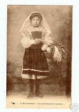 en LIMOUSIN (87) LA MARCHANDE DE LEGUMES en 1925
