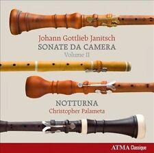 Johann Gottlieb Janitsch: Sonate da camera, Vol. 2 (CD, May-2011, ATMA...