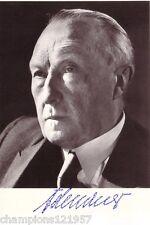 Konrad Adenauer ++Autogramm++ ++1. Bundeskanzler++2