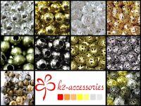 1000x 2mm / 400x 4mm / 200x 6mm / 100x 8mm / 50x10mm Metal Spacer Beads