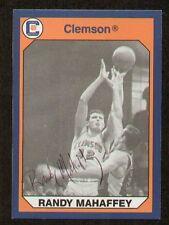 Randy Mahaffey signed autograph auto Clemson Collegiate Collection Card