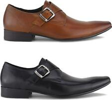 Blakeseys GOWER Mens Leather Monkstrap Chisel Toe Formal Office Evening Shoes