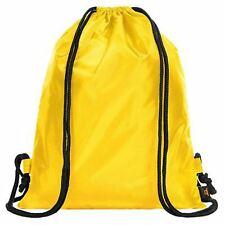 Yellow Halfar Drawstring School Tuition Backpack Kids Swimming Unisex Swim Bag