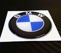 1 ADESIVO BMW RESINATO ADESIVI RESINATI 3D STICKERS DIAMETRO 5 CM COD.10