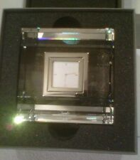 Daniel Swarovski Cadence Table Clock (#622097) - Rare / Retired - NIB