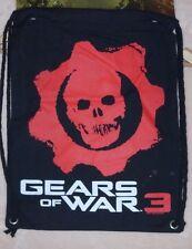 Gears of War 3 Red Skull drawstring bag