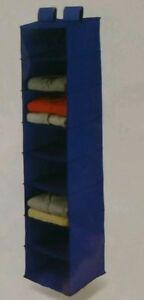 Hanging Closet Organizer with 8 Shelves