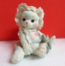 Calico Kittens Love'S Special Delivery Kitty Cat Enesco Figurine