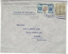 1937 Guatemala, Commercial, to Dundee Scotland