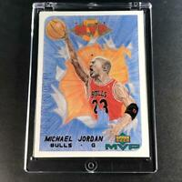 MICHAEL JORDAN 1999 UPPER DECK MVP #W30 DRAW YOUR OWN CARD INSERT CHICAGO BULLS