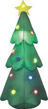 Selbstaufblasender Tannenbaum LED Lichterspiel beleuchtet 120cm Weinachtsbaum