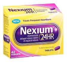 Nexium 24 HR 20mg Acid Reducer Tablet 42 ea (Pack of 2)