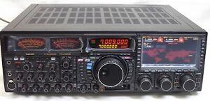 YAESU FTDX9000D (Amber) HF-50MHz 200W Transceiver Built-in auto antenna tuner