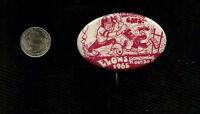 vintage 1965 Elons Homecoming Game   button pinback badge