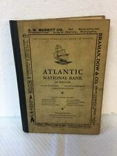 Rare Antique Book Boston Mass Business Directory by Streets 1929 Sampson Murdock