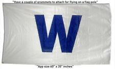 FREE SHIP TO USA Chicago CUBS MLB 3x5 Feet W win FLAG BANNER sign  Wrigley Field