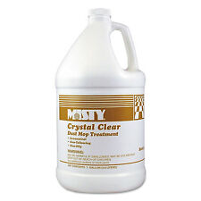 Misty Crystal Clear Dust Mop Treatment Slightly Fruity Scent 1 gal Bottle