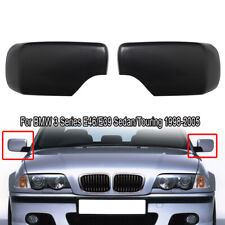 For BMW E39 E46 Cover Cap for Door Mirror Primered Set of Left & Right Side New