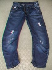 MENS G STAR 'ARC 3D LOOSE TAPERED' JEANS SIZE 33 SHORT