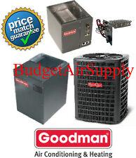 5 Ton 16 SEER Goodman Heat Pump GSZ160601+MBVC2000AA-1+CAPF4961D6 Up/Down Flow++