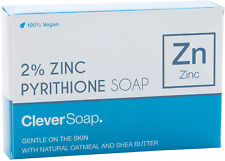 2 Zinc Pyrithione Soap Bar   Antibacterial & Vegancontains Natural Oatmeal
