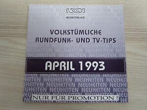 CD / VOLKSTÜMLICHE RUNDFUNK TIPS / PROMO KOCH REC. / ZILLERTALER,KARAWANKEN QUIN