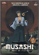 MUSASHI - BOX 1 - COFFRET 2 DVD NEUF SOUS BLISTER