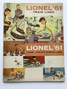 1961 Lionel Model Train Catalog with 72 Color Pages! Mint Condition!    O