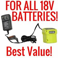 Ryobi 18V Power Tool Batteries & Chargers | eBay on exide battery charger wiring diagram, 12 volt battery charger wiring diagram, generac battery charger wiring diagram, onboard battery charger wiring diagram, guest battery charger wiring diagram, century battery charger wiring diagram, sears battery charger wiring diagram,