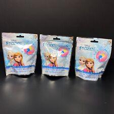 Lot Of 3 Disney Frozen Bath Bombs Berry Scent Color Fizzie Elsa Anna Stocking